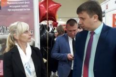 С. Черданцев на экспозиции МФ ПМП г.Прокопьевска